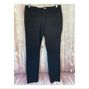 🔥4/$25 Old Navy- The Diva Cropped Polka Dot Pant